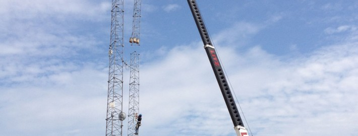 Erecting New Cell Tower 4